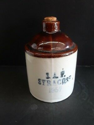 S.a.f Syracuse Miniature Whisky Jug 1957