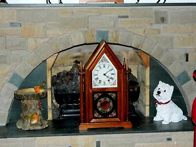 Large 8 Day German Cathedral Clock With Jauch Movement