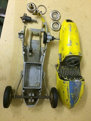 OHLSSON & RICE INC Tether  CAR DAMAGED Chassis. NO ENGINE