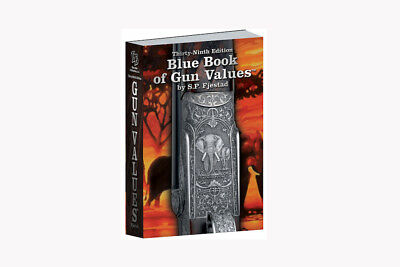 Blue Book of Gun Values 2018 2019 39th Edition NEW