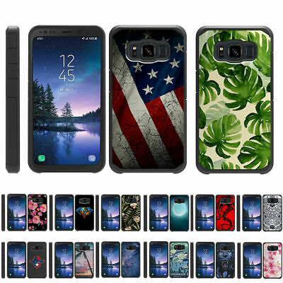 For Samsung Galaxy S8 Active G892 Hybrid Dual Layer Protective Slim Case
