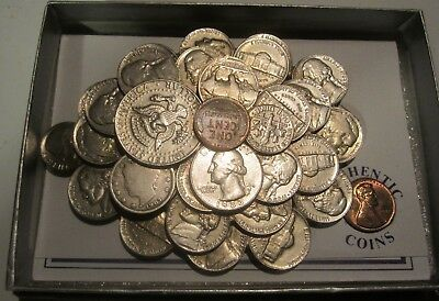 Paperweight  Mixed coins