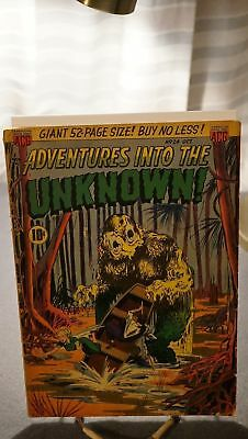 Adventures Into The Unknown #24 - (Vg+/fn-)