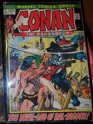 Conan the Barbarian #17 Marvel comics