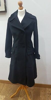 MAX   Co Max Mara stunning double breasted wool coat cappotto lana trench  style c129c8b3b3c