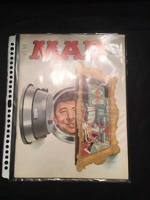 MAD Magazine No.120 July 1968 , Bank Vault Issue, Mingo Cover  Art