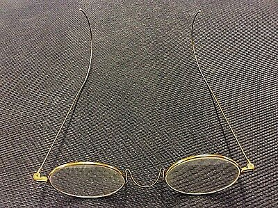 Vintage 10K Gold Eyeglasses Frame With Original Leather Case