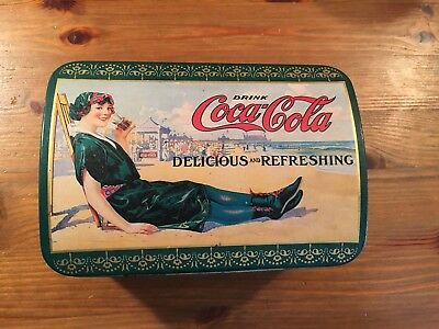 1995 Coca Cola Hinged Tin