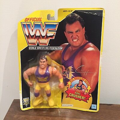 WWF/WWE Crush Vintage Hasbro Action Figure 1993 Series 7 MOC