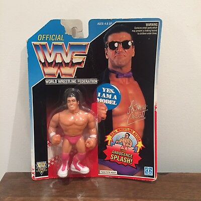 WWF/WWE 'The Model' Rick Martel Vintage Hasbro Action Figure 1993 Series 5 MOC