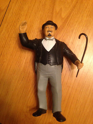 WWF LJN Mr. Fuji Wrestling Figure WWE WITH CANE! Excellent condition 2