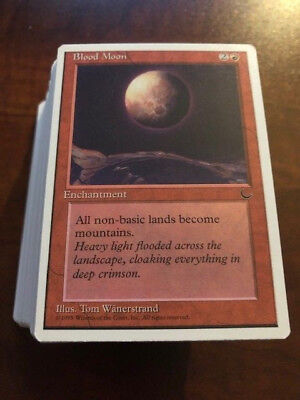 MTG Chronicles Magic the Gathering 125 Unplayed NM/M Card Complete Set