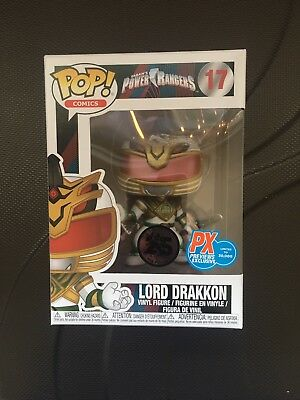Funko POP!  LORD DRAKKON TV Saban's Power Rangers PX Exclusive  #17