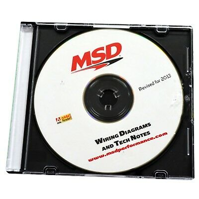 MSD Ignition 9607 CD Rom