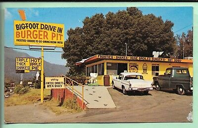 Oakhurst, California. Bigfoot Drive In Burger Pit.