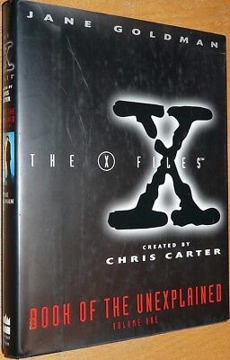 X-FILES Book of the Unexplained Vol. 1, by Jane Goldman, HC mit SU