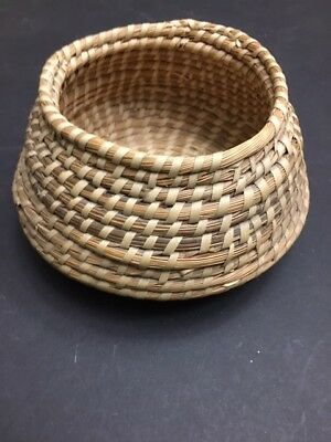 Native American Hand Woven Basket