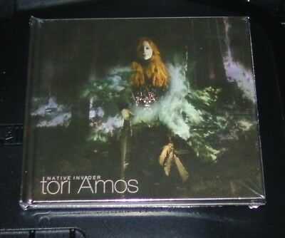 Tori Amos Native Invader Hardcover Deluxe Edition CD Schneller Shipping New Ovp