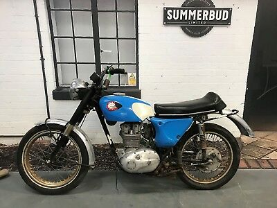 BSA B25 Starfire Restoration Project Barn find Spares or Repair US Import