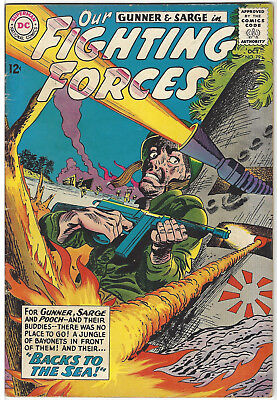 OUR FIGHTING FORCES #79 FN- Oct '63 Gunner & Sarge Jerry Grandenetti DC Comics