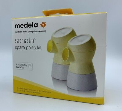 NIB Medela Sonata Breast Pump Spare Parts Kit Brand New Sealed Never Opened