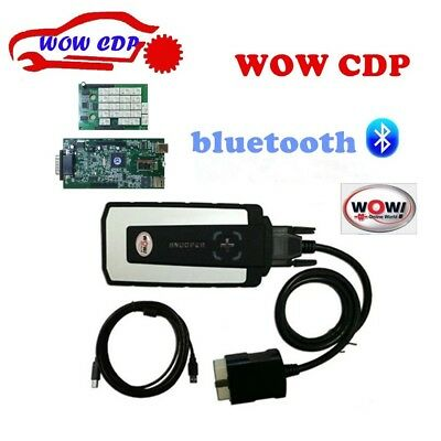 Up To 2018 WOW Obd2 Snooper V5.00.12 R2 Bluetooth Diagnostic for Cars Vci