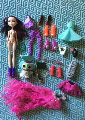 Monster/Ever After High clothes/items/doll bulk lot VGC 4 OOAK/Play/Customising