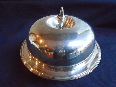 Vintage Silver Plated Muffin Dish