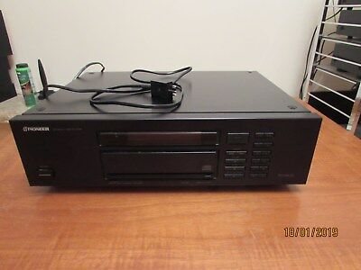 Pioneer CD Player-PD9300-Used-Good Condition+Remote Control+Manual-UK