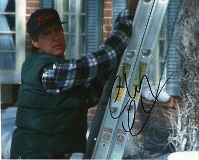 Chevy Chase signed 8 x 10 photo Christmas Vacation