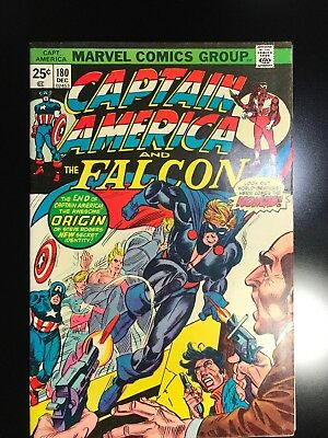 Marvel Captain America & Falcon 180 Nomad 1st Appearance