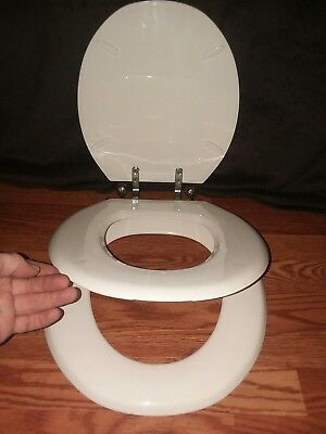 Vintage Toilet Seat For Potty Training AND Adults...2 sizes...Adult, AND Toddler