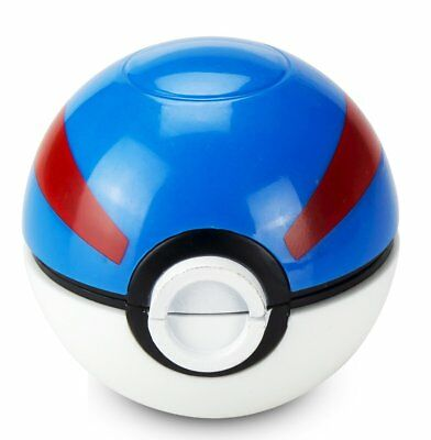 3 Piece Pikachu & Pokeball Themed Herb Grinder  Spice crusher (Great Ball)