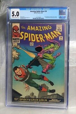 Reduced Price, Only Today!! Amazing Spider-Man 39 Cgc 5.0 Stan Lee. 1St Romita.