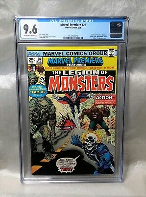 Reduced Price, Only Today!! Marvel Premiere 28 Cgc 9.6 Legion Monsters. Morbius.