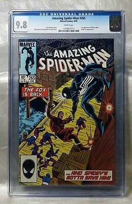 Reduced Price, Only Today! Amazing Spider-Man 265 Cgc 9.8 White 1St Silver Sable
