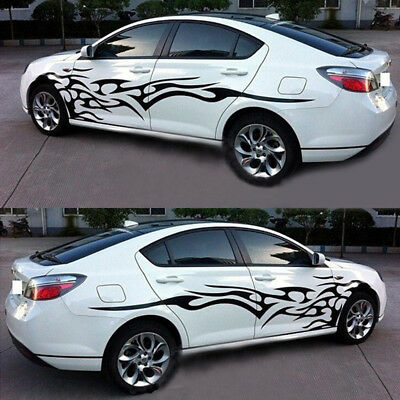 2x Auto Car Decal Vinyl Graphics Side Stickers Body Generic Decal Sticker SUV
