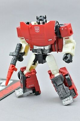 Transformers Siege Sideswipe Complete War for Cybertron Deluxe WFC