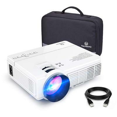 Vankyo Leisure 3 (Upgraded Version) 2400 Lux LED Portable Projector WHITE