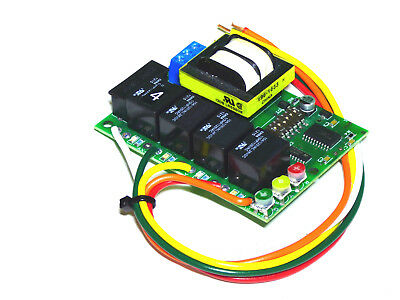 4 Circuit Traffic Light Controller & Sequencer Sl-3011 120V, Sl-3012 240 V