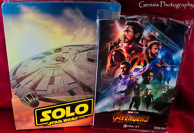 Solo: A Star Wars Story Steelbook (Blu-ray 3D + blu-ray + Bonus) + Art Cards