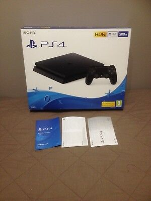 Empty Box Only - Sony Playstation 4 - PS4 500GB