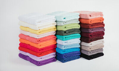 """""""MILDTOUCH"""" Combed Cotton Towels (5 Sizes & 30 Colours Available)"""
