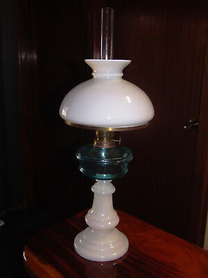 Late 19th century Bismark oil lamp