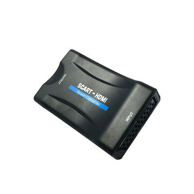 Scart to HDMI Adapter Converter Audio Video Composite TV DVD SkyBox
