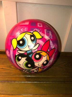 Brunswick Power Puff Girls Pink bowling ball 6lb13 Viz A Ball Used Drilled Clean