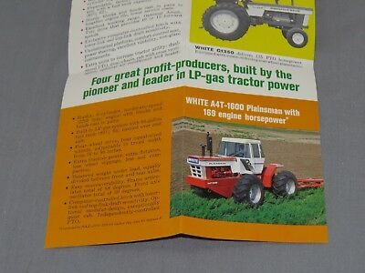 vtg Minneapolis Moline G1050 G950 Tractor Sales Brochure Catalog 1970 A4T-1600