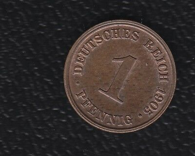 Germany 1 Pennig 1905J