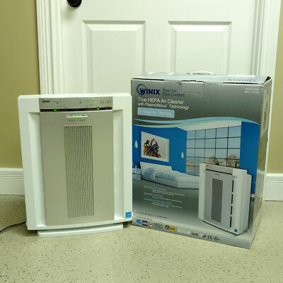 Winix 6300 True HEPA Air Purifier Cleaner PlasmaWave Technology 350 Sq Ft Remote
