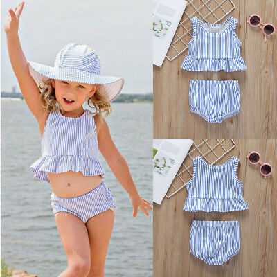AU 2pcs Newborn Infant Baby Girls Summer Clothes Tops+Shorts Pants Outfits Set
